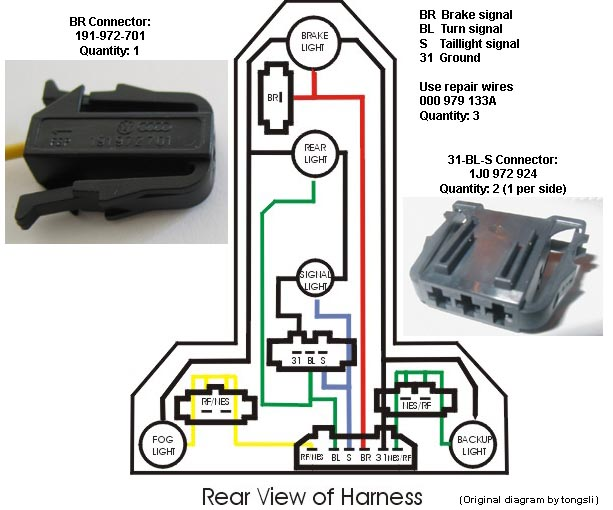 trailer wiring for 2003 jetta - TDIClub Forums