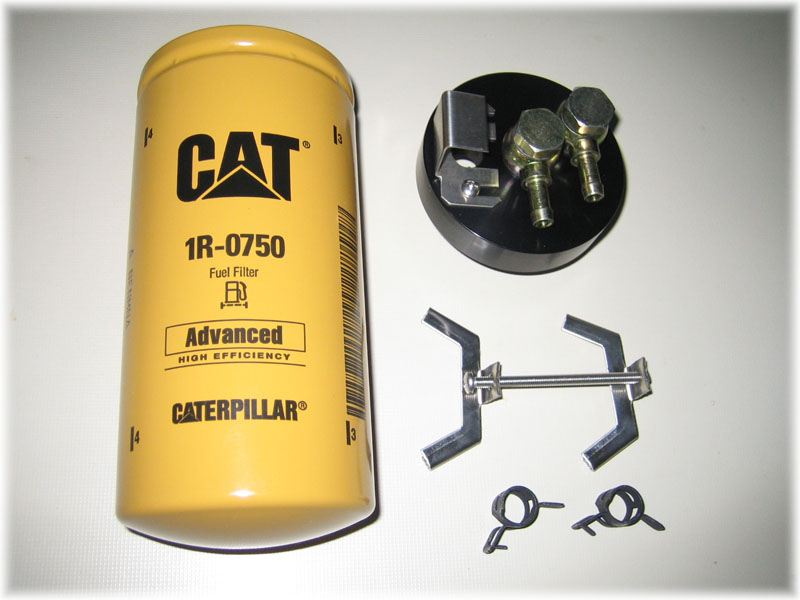 cat fuel filter package contents